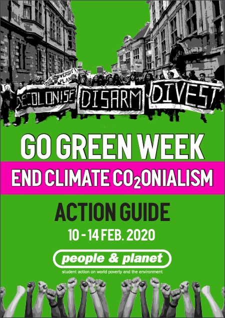 Front of the People and Planet 'going green' week guide